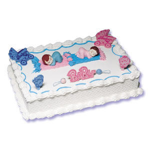 Baby Shower Cake Kit - Boy or Girl-Baby Shower, Shower Cake